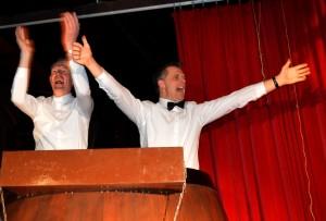 De Prins en Adjudant van dit jaar: de broers Jeroen en Eric Schuurmans.