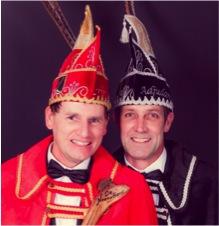 Prins Ronnie Stapelbroek en Adjudant Herbert Lubbers